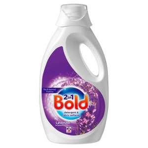 Bold 2in1 Lavender and Camomile 40 wash liquid detergent & softener £5.00 at ASDA!
