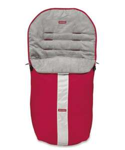 Maclaren techno xt footmuff scarlet colour £10 @ Mothercare