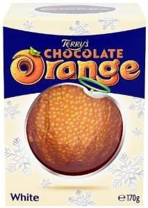 Kraft Terry's Chocolate Orange Ball White Chocolate 170 g (Pack of 6) £4.90 amazon warehouse (add on item £10 spend)