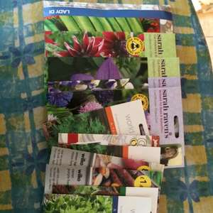 75% off flower and vegetable seeds in Wilkinson