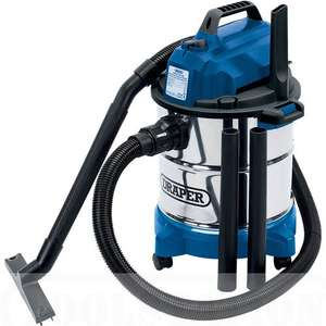 Draper Wet and Dry Vacuum Cleaner 230V - £54.95 @ Toolstation
