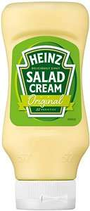 Heinz salad cream (460g) - £1.50 @ waitrose - 90p after cashback