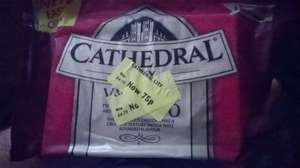 Cathedral City Cheddar chesse was £4.75 now 0.75p @ Morrisons