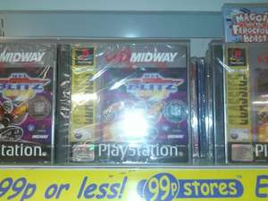 NFL Blitz PS1 Sealed £0.99 @ 99P Stores