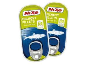 NIXE Anchovy Fillets half price 34p at LIDL