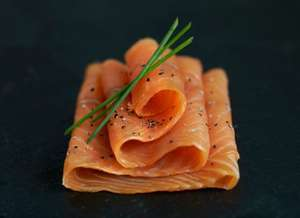200g of Scottish (LIDL) or Norwegian (ALDI) Smoked Salmon for £2.65