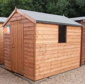 Tongue and Grooved 8x6 Shed including Local Delivery and Assembly for only £329 @ Millers Sheds