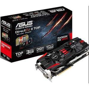 Asus Radeon R9 280X with free ECHELON LASER MOUSE £235.99 @ overclockers