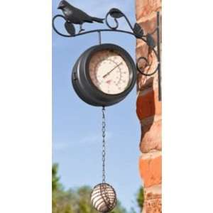 Bird Feeder Clock and Thermometer £7.99 at Argos