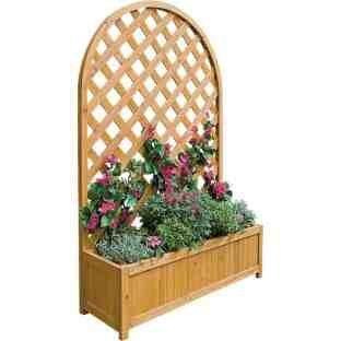 large lattice garden planter argos hotukdeals. Black Bedroom Furniture Sets. Home Design Ideas