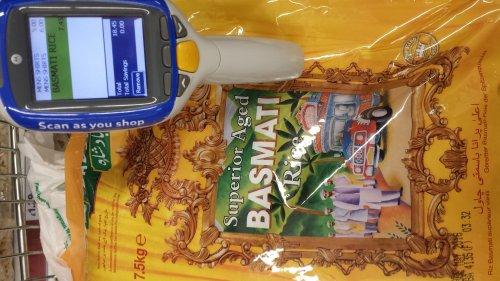Badshah Basmati Rice £7.45 for 7.50KG bag @ Tesco