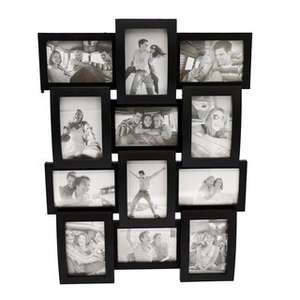 home living 12pc 3d photo frame was £9.99 now £7.99 other frames on sale too @ B&M online