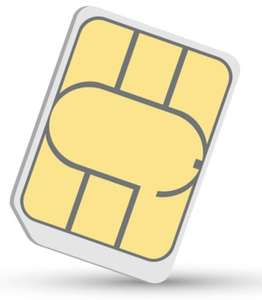 Three Pay As You Go SIM Card with Adapters (Preloaded with 300 minutes, Unlimited Data and 3000 texts) - £8.50 @ Amazon