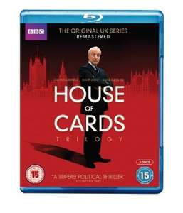 BBC house of cards blu ray £7.50@Amazon (free delivery £10 spend/prime/locker