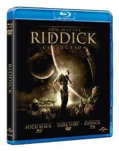 The Riddick collection BLU-RAY £7 at amazon (free delivery prime/£10+ spend) and more boxsets below