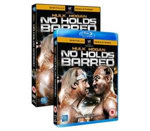 No Holds Barred on Blu-Ray for £3.99/DVD for £3.49 on WWEDVD.co.uk