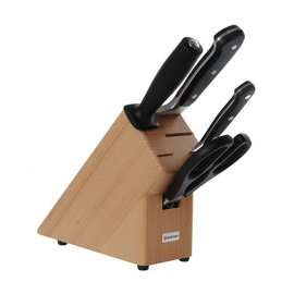 Wusthof knife block set half price -  was £169 now £84 from Heal's
