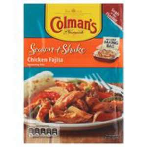 Colman's season and shake 7p @ Morrisons local using coupons (usually £1.24)
