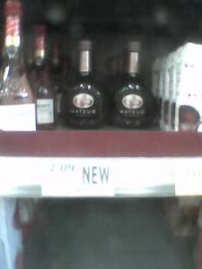 Mateus Rose small 187ml bottles for 99p (showing £2.09 on shelf)