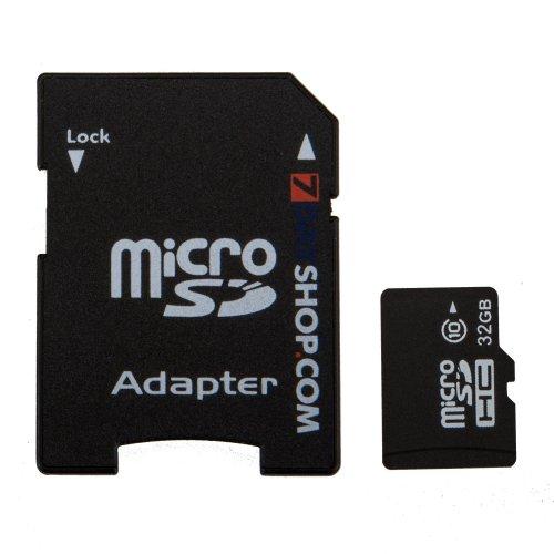 Micro SDHC Memory Card - 32GB - Class 10 SD plus Adapter - £10.99 @ 7dayShop