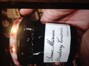 Bonne Maman strawberry jam 370g jars in store at 99p stores (Leeds)