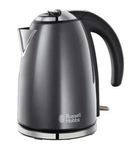 Russell Hobbs 18944 Storm Grey Stainless Steel 1.7L Cordless Kettle £17.50 Delivered @ Amazon