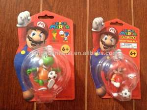 Super Mario Football Keychain Figures, £1 In Poundworld