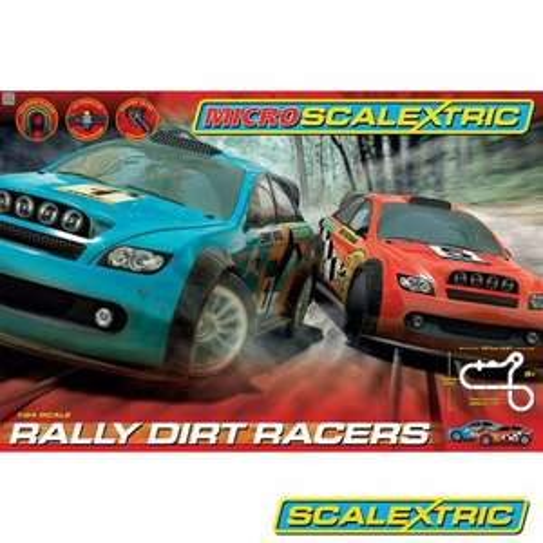 Micro Scalextric Rally Dirt Racers £32.94 delivered @ Hawkins Bazaar