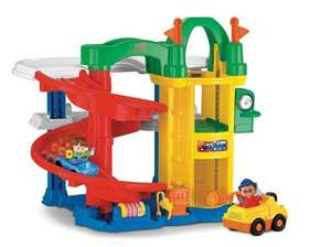 Fisher-Price Little People Racin' Ramps Garage £20 @Amazon