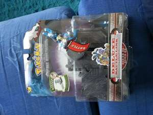 pokemon dp battle dimension deluxe battle link lucario @ Poundworld
