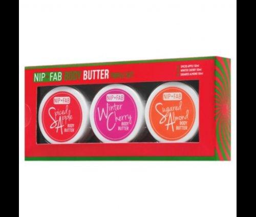 Nip + Fab Body Butter Triple Set £3.00 Tesco C&C
