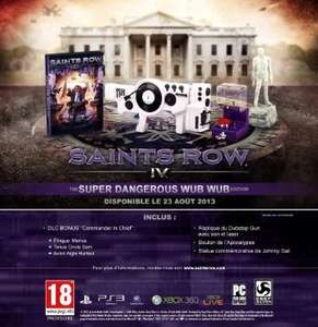 Saints Row IV: Super Dangerous Wub Wub Edition (PS3/X360)£23.12 @ Amazon France