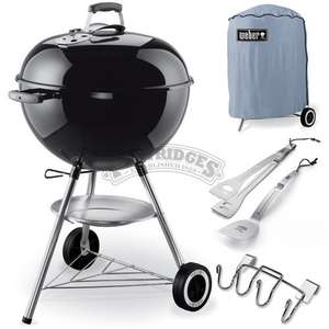 Weber One Touch Original 57cm Black Kettle BBQ Promotion @ M W Partridge & Co Ltd.... £126.49