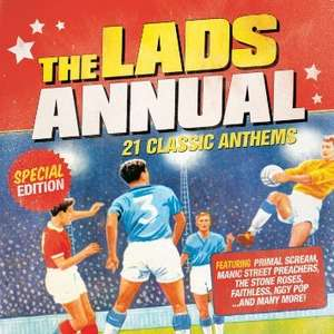 Lads Album (21 indie hits) - £1.55 at Tesco and Amazon (Tesco Free Delivery - Amazon - min £10 spend for free delivery)
