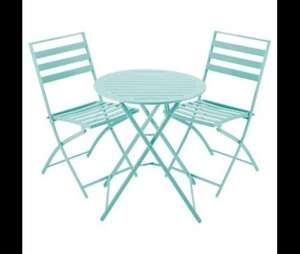 Tesco folding Bistro set £35.00 down from £70