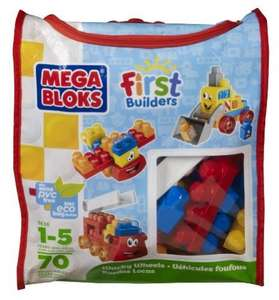 Mega Bloks Wacky Wheels Building Blocks Bag amazon - £8.48 (Free delivery with Prime/£10 spend)