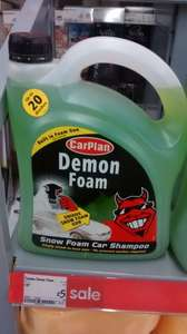 demon foam snow foam 2litre with spray gun - £5 instore @ ASDA