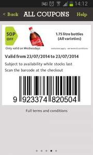 Coke 1.75 ltr for 50p using coupon - £1 @ Morrisons (Preston)