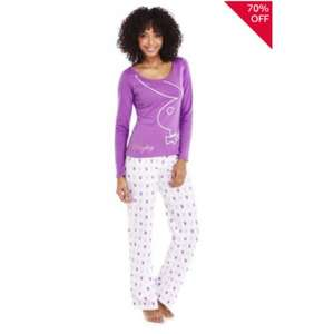 Playboy Pyjamas £4.00 @ Tesco