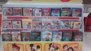 2 Dvds For £5 - Sainsbury's Instore
