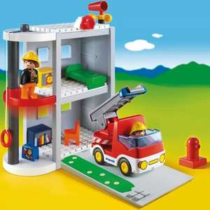 Playmobil 1.2.3 take along fire station half price at boots £17.49 (free del to store if spending over £20)
