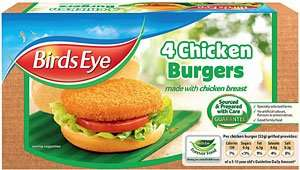 Birds eye chicken burgers 4 pack - £1 @ tesco, 50p after cashback
