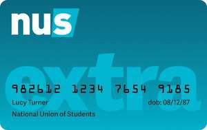 NUS Extra Card for Graduates  £9.99 @ Endsleigh