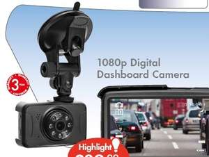1080p digital dashboard camera with 3 yr guarantee. Black Bedroom Furniture Sets. Home Design Ideas