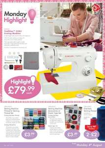 singer tradition 2282 sewing machine with 3yrs warranty £80 @Lidl
