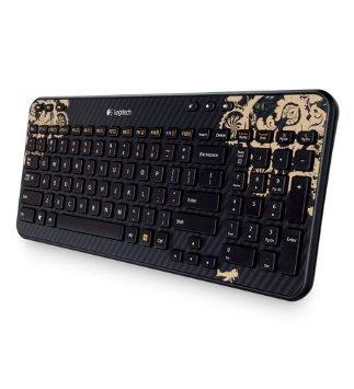 Logitech K360 Wireless Keyboard - Victorian Wallpaper £9.10 @ Amazon