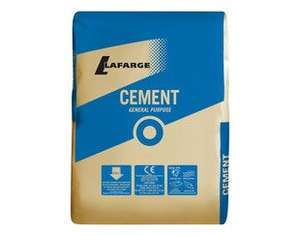 25kg Cement now £1 at B&Q (instore only)