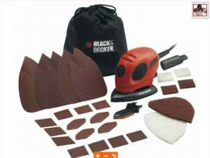 Black & Decker 55W Mouse Sander with Sheets was £34.98 now £20!! @ B&Q
