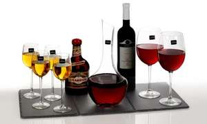 Royal Worcester Decanter & Glasses Sets - £18.99 & £19.99 @ Groupon (+ £1.99 P&P)