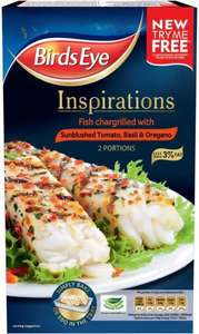 Birds Eye Inspirations Fish Chargrilled With Tomato & Herb (300g) was £3.00 now £2.00 @ Tesco